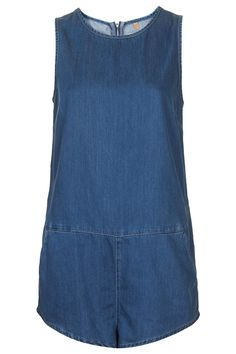Pin for Later: 5 Easy Wardrobe Updates For Spring The Updated Dress It's not a dress! Jumpsuits and rompers are a playful, wearable alternative to your everyday sundress. Topshop Moto Tencel Sporty Playsuit ($72)