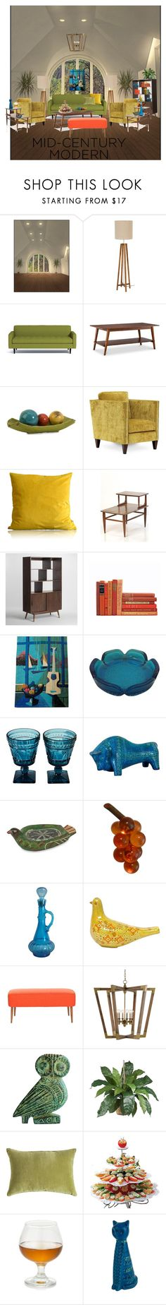 """""""mid century memories"""" by rewolf71 ❤ liked on Polyvore featuring interior, interiors, interior design, home, home decor, interior decorating, Foremost, IMAX Corporation, Homeware and Cost Plus World Market"""