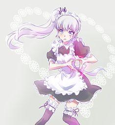 Your Anime Fix - Want great otaku apparel check out. Manga Anime, Me Anime, Manga Girl, Anime Girls, Rwby Fanart, Kawaii Anime, Persona Anime, Rwby Weiss, Rwby Characters