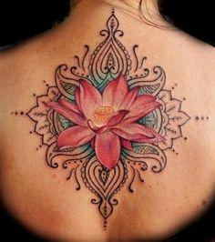 Beautiful Lotus Tattoo