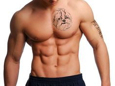Not so much the tattoo, but the Abs... O.M.G!