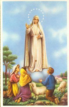 postal+religiosa+antigua.+Virgen+de+Fátima.jpg 584×900 píxeles