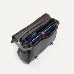 Eclair Postman Bag - Leather Satchel Bag Made in France  9acceaab89bd4