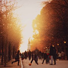 El Retiro, Madrid.