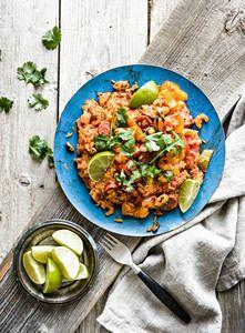 Jambalaya |K-Ruoka Jambalaya, Kala, Chorizo, Wine Recipes, Curry, Ethnic Recipes, Food, Red Peppers, Curries