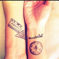 To mark where you have been. | Community Post: 32 Tattoos That Will Make You Want To Travel The World