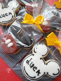 Cookies decorados Tema Mickey
