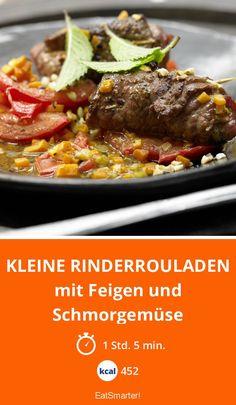 Kleine Rinderrouladen - mit Feigen und Schmorgemüse - smarter - Kalorien: 452 Kcal - Zeit: 1 Std. 5 Min. | eatsmarter.de