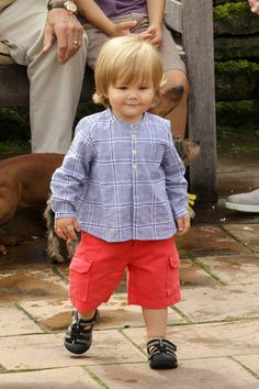Prince Vincent of Denmark, son of Crown Prince Frederik and Crown Princess Mary - 20/7/2012