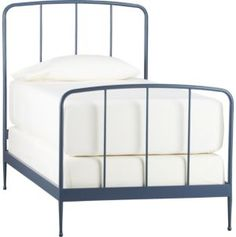 """Twin Rory Blue Bed 