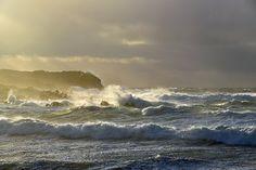 Breezy afternoon in Saligo Bay (3), Isle of Islay