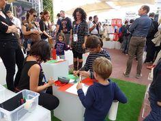 #Reggiodays in #piazzettaER a #Expo2015,  #EmiliaRomagna #tricolore #reggiochildren
