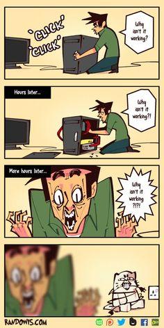 Short Comics – Page 3 – RandoWis Randowis Comics, Crazy Funny Memes, Stupid Funny Memes, Funny Relatable Memes, Funny Cartoons, Funny Comics, Memes Humor, Really Funny, Funny Cute