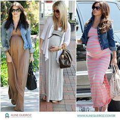 Instagram media by personalstylist_alinequeiroz - E a dica hoje vai especialmente para as #mamães #gravidinhas!! A #gravidez é um momento especial e é muito normal nessa fase se sentir desanimada na hora de se vestir! Então hoje quero inspirar vocês com coisas mais fáceis e que estão à mão, como #vestidosdemalha mais larguinhos, que comportam facilmente à #barriga e acompanham o #crescimento dela! Como opção você pode usar uma #jaquetinha por cima, caso dê uma esfriada ou você tenha algum…