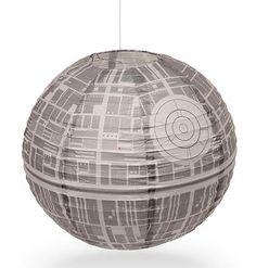 Death Star Paper Lantern