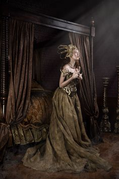 Gothic Charm School: pretty things • darkbeautymag:   Producer/Dress: Miss Aniela​...