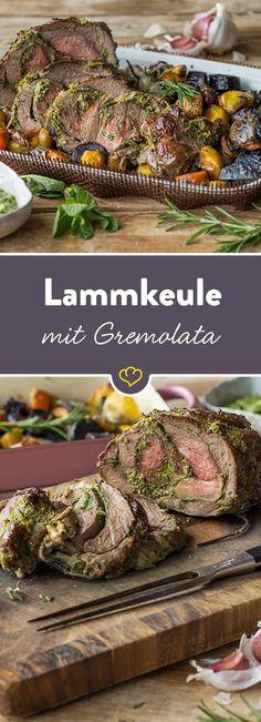 Die Krönung einer jeden Festtafel. Die Kräuter-Gremolata verleiht diesem Gericht zudem eine feine mediterrane Note.