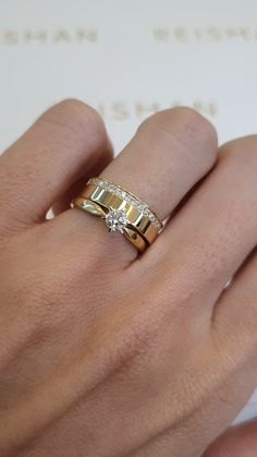 Gold Rings Jewelry, Wedding Jewelry, Jewelery, Cool Wedding Rings, Wedding Bands, Couple Ring Design, Champagne Ring, Matching Couple Rings, Engagement Rings Couple