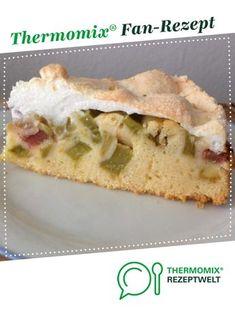 Rhabarber - Baiser von ViPu. Ein Thermomix ® Rezept aus der Kategorie Backen süß auf www.rezeptwelt.de, der Thermomix ® Community.