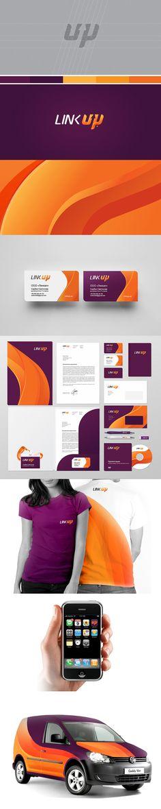 Link Up full branding package