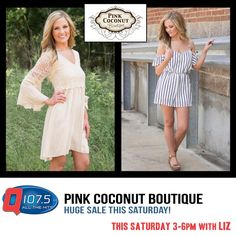 @LizontheQ has your Maroon 5 Tickets today from 3-6pm at Pink Coconut Boutique 5142 Goodman Rd. http://Q1075.com