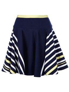 Sacai Luck - striped skirt 1
