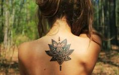 Tatuaggi fiori - Tatuaggio fiore di loto