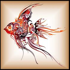 Beautiful fish vector! I want this as a tattoo concept. I am always impressed with details and colors. Enjoy!
