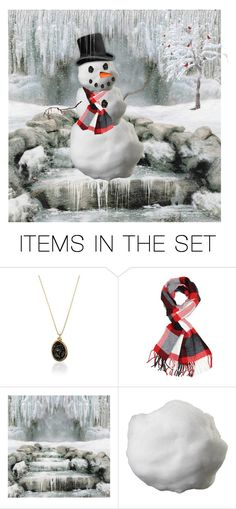 """Brrrr"" by shelley-harcar ❤ liked on Polyvore featuring art"