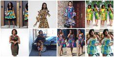 Latest Designs of Short Ankara Gowns for Weddings – See Linda Ikeji and Omoni Oboli Rocking The Styles
