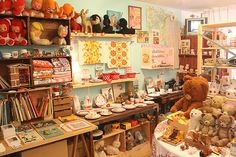 antique toy shop in Japan