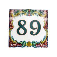Square Designs » Exotic Ceramic Tiles Designs Tile Murals, Tile Art, Wc Sign, Ceramic House Numbers, Plaque Design, Personalized Plaques, Ceramic Houses, Portuguese Tiles, Street Signs