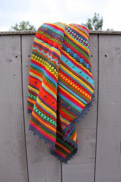 Crochet Blankets Design Ak at home : crochet * CAL babydekentje Plaid Crochet, Crochet Quilt, Afghan Crochet Patterns, Cute Crochet, Baby Blanket Crochet, Crochet Stitches, Crochet Baby, Crochet For Beginners Blanket, Knitting For Beginners