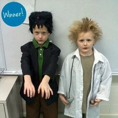 Easy Halloween costume idea: Use a milk jug to create a Frankenstein's Monster head