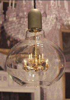 Amusing Chandelier Inside Light Bulb Gallery - Simple Design Home ...