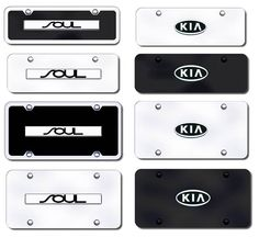 Soul License Plates (Vanity Logo Tags) - Soul License Frames (tag holders)