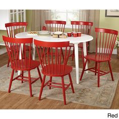 Simple Living 7-piece Naples Oval Dining Set | Overstock™ Shopping - Big Discounts on Simple Living Dining Sets