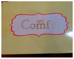 bits-en-pieces: Too Comfit For Comfit Shoes