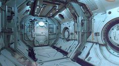 Scifi speedcorridor, Tor Frick on ArtStation at https://www.artstation.com/artwork/scifi-speedcorridor
