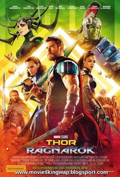 Thor: Ragnarok on DVD March 2018 starring Chris Hemsworth, Tom Hiddleston, Jaimie Alexander, Tessa Thompson. In Marvel Studios' Thor: Ragnarok, Thor is imprisoned on the other side of the universe without his mighty hammer and finds himself in a r Thor Ragnarok Full Movie, Thor Ragnarok 2017, Streaming Movies, Hd Movies, Movies Online, Movie Film, Hd Streaming, Movies Free