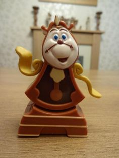 McDonalds Happy Meal Toy BEAUTY AND THE BEAST Character COGSWORTH
