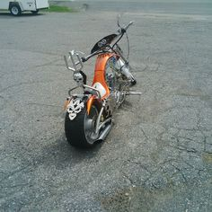 3/4 mini chopper motorcycle
