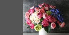 Silk flower arrangement -Studio 100