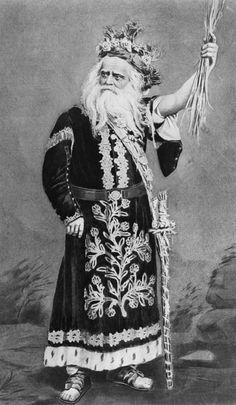 Edwin Forrest as King Lear.