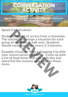 Esl, Sausage On A Stick, Conversation Questions, Stir Fry Dishes, Bad Food, Travel Themes, Idioms, Book Format, Card Games