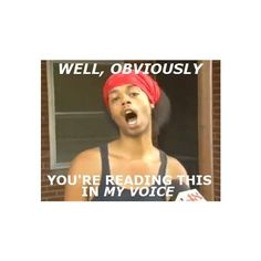 Bed Intruder; his voice. ❤ liked on Polyvore