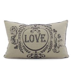 Chloe & Olive Love Potion Collection - Cotton French Country Cupid Home Décor Luxe European Decorative Throw Toss Accent Pillow with Insert (Navy Blue & Khaki, Velvet, Lumbar, 1 12x20-Inch Cushion). TWO-FACED FASHION PILLOW DESIGN: With a simple flip of the pillow, the love and cupid design reverses to navy blue crushed velvet for an alternate look! Colors include navy blue and khaki brown. HANDCRAFTED IN THE USA: This unique and fun inspired pillow cover collection is handmade in Santa...