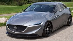 2013 Mazda Deep Orange Concept Electric Car produced by the Clemson University International Center for Automotive Research. Sheet metal patented by Ohio-based Industrial Origami All Cars, Used Cars, Automotive Engineering, Automotive News, Bicycle Bell, Maserati Granturismo, Sport Cars, Concept Cars, Classic Cars