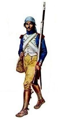 Regimiento de Granaderos de la Guardia de Jose Bonaparte. España 1813