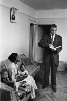 In mid-February 1965, he was trying to jump-start his new Organization of Afro-American Unity. Malcolm X, 39 (with wife Betty Shabazz and their daughters), had broken with the Black Muslims over tactics to speed black empowerment. The split proved fatal. At an upcoming rally, three men would shoot him dead.